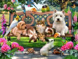 Алмазная живопись- Животные, 4 размера
