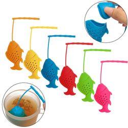 Tea szűrő hal formájában
