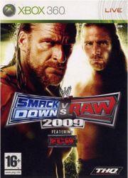 Игра за Xbox 360 WWE SmackDown Vs RAW 2009