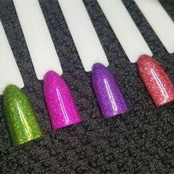 Glitter za ukrašavanje noktiju - 6 boja