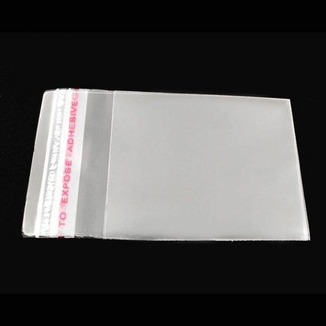 Samolepilne vrečke 6x4 cm - 200 kosov 1