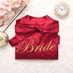 Esküvői fürdőköpeny Bride