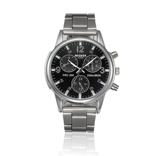 Muški sat luksuznog izdanja sa crnim brojčanikom 1