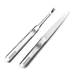 Pilník a nástroj na nehtové kůžičky - 2 kusy