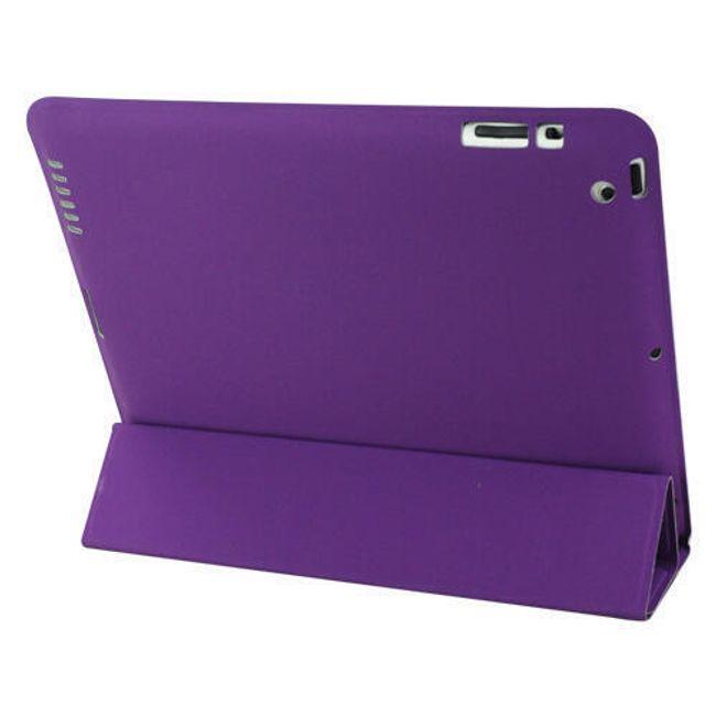 Magnetické chytré pouzdro pro nový iPad - fialové ultratenké 1