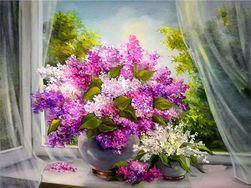 5D kép - virágok