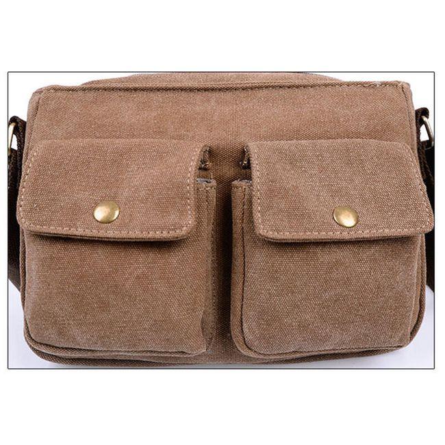 Férfi táska két zsebbel - 2 szín