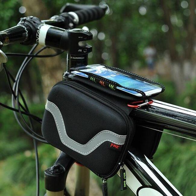 Непромокаемая сумка на велосипед 1