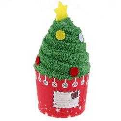 Dárkový ručníček s vánočním motivem - 2 druhy