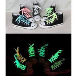 Fluorescenční tkaničky v několika barvách - 100 cm