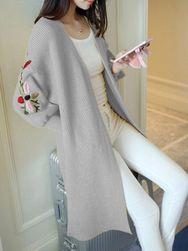 Damski pleciony sweter DPS5
