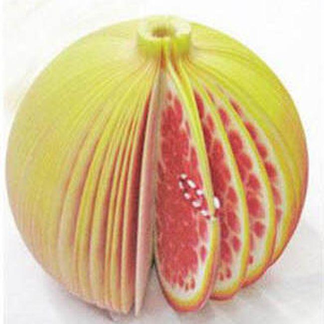 Notes w owocowym kształcie - jabłko granatu 1