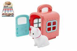 Zvieratko v prepravnom boxe plast 3 farby 12 ks v boxe RM_00311915