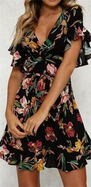 Ženska mini haljina DMS1 1