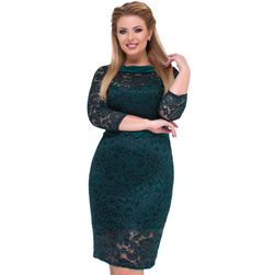 Dámské šaty Charis v plus size velikostech - 2 barvy