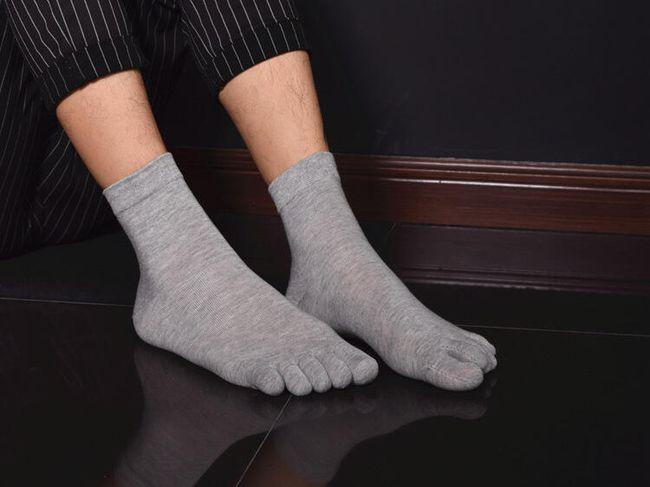 Férfi alkalmi lábujjak