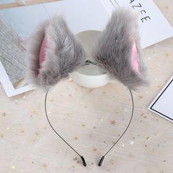 Лента за глава с космати уши