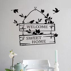 Nalepnica za zid sa natpisom dobrodošlice