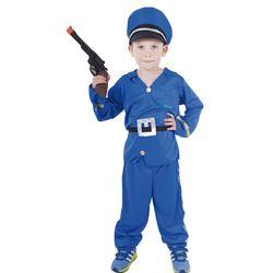 Costum polițist cu husă pentru copii (S) RZ_206885