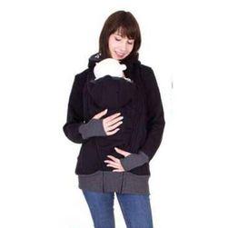 Дамски суичър с джоб за бебе Sarah