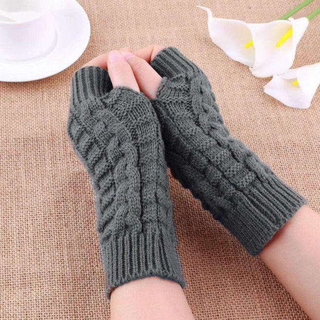 Mănuși împletite de damă  1