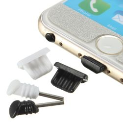 Zatyczki chroniące konektory telefonu od kurzu