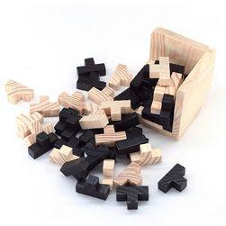 Joc puzzle din lemn - Rubic