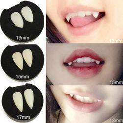 Залепящи вампирски зъби за хелоуин - повече варианти