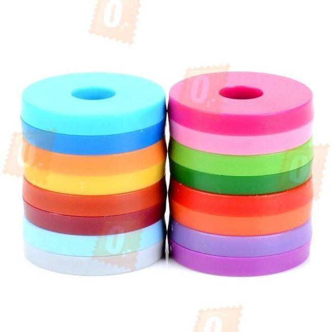 Barevné magnetky - 8 ks v balení 1