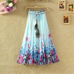 Легкая длинная юбка для весны и лета
