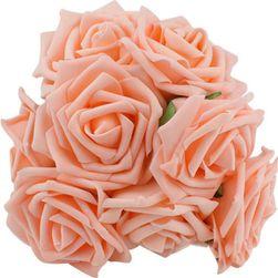 Mesterséges rózsák - 10 darab