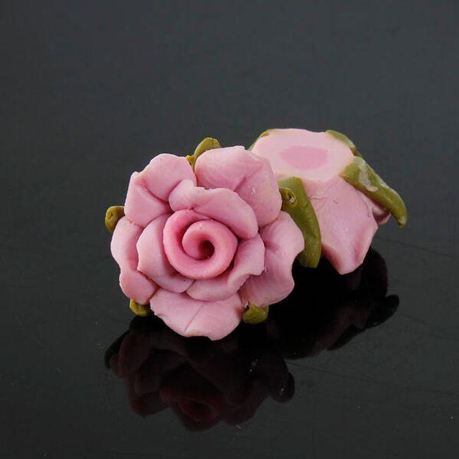 Dekorace na nehty ve tvaru růže - 5 kusů 1