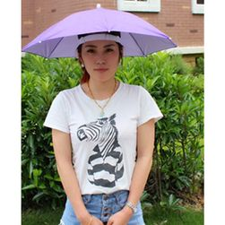 Deštník na hlavu - náhodná barva
