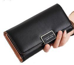 Elegantna ženska denarnica - nežne barve