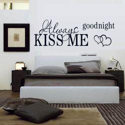 Naljepnica za zid - Poljubi me za laku noć