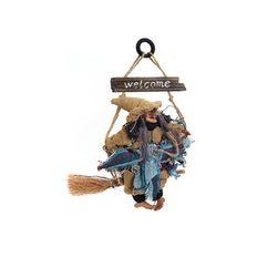 Boszorkány a seprűn  - dekoráció
