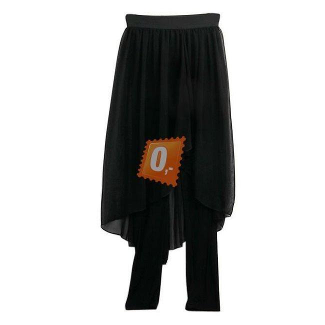 Dámská černá sukně s legínami 1
