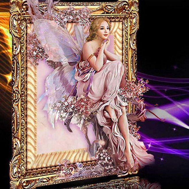 5D slika sa anđelom 1