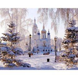 Barkács kép - téli táj