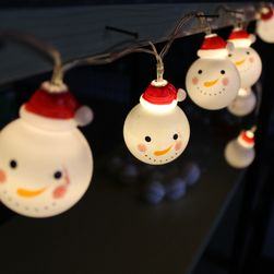 LED řetěz Snowman