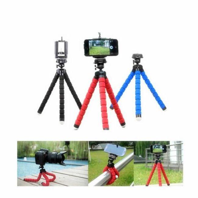 Mobiltelefon vagy kamera állvány - polip 1
