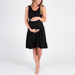 Těhotenské šaty na spaní
