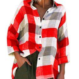 Dámská kostkovaná košile Manala