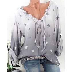 Dámská košile s hvězdičkami