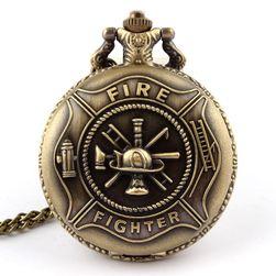 Vintage džepni sat za vatrogasce