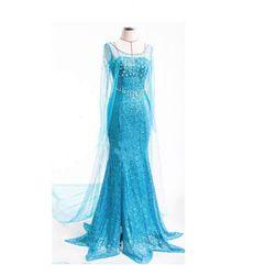 Платье для ледяной королевы