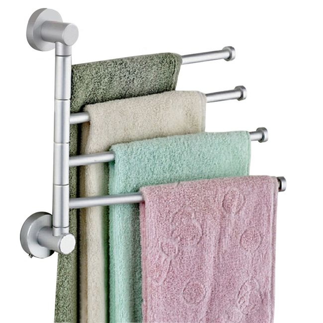 Držák na ručníky s otočnými rameny 1