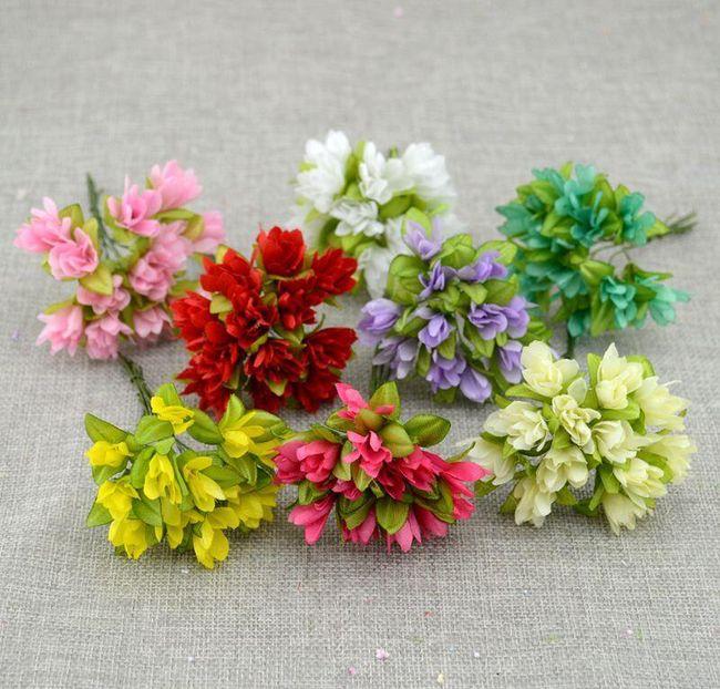 Yapay tekstil çiçekler 1