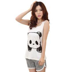 Dámské pyžamo s pandou - univerzální velikost