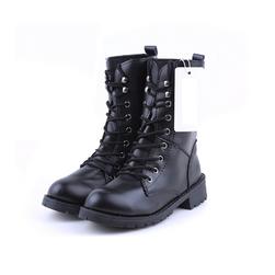 Dámské černé šněrovací boty